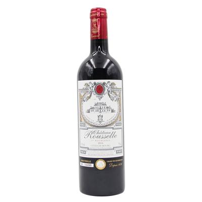 法国波尔多皇家鲁塞尔混酿波尔多右岸AOC干红葡萄酒