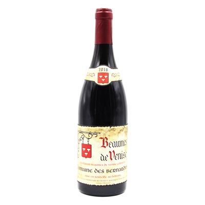 法国博姆-德沃尼斯产区贝尔纳旦酒庄歌海娜西拉罗纳河谷AOC干红葡萄酒