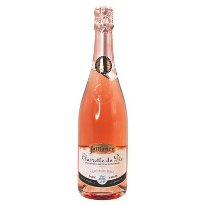 法国波尔多雅酿丝酒庄佳美麝香粉红女郎AOC高泡甜葡萄酒