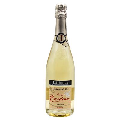 法国波尔多雅酿丝酒庄麝香特酿韦科尔山麓高泡半甜白葡萄酒