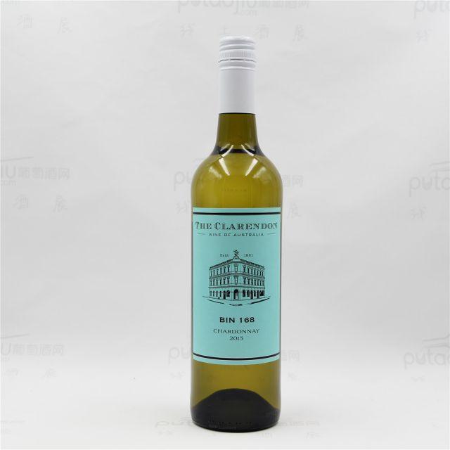 克莱顿酒庄Bin168霞多丽干白葡萄酒2015