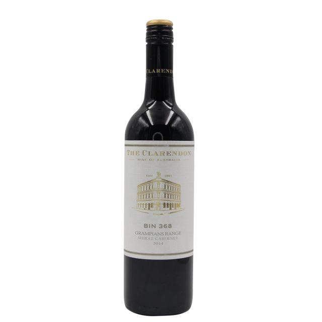 澳大利亞亨蒂產區克萊頓酒莊Bin368格蘭屏西拉赤霞珠干紅葡萄酒2014