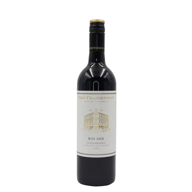 克莱顿酒庄Bin368库纳瓦拉赤霞珠干红葡萄酒 2012