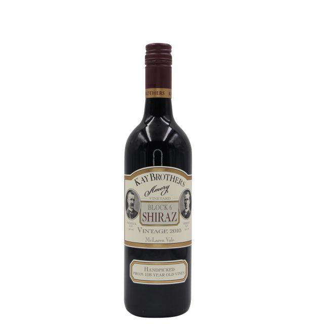 澳大利亞麥克拉倫谷產區凱氏兄弟莊園西拉艾美麗6號雙紅五星酒莊干紅葡萄酒 2011