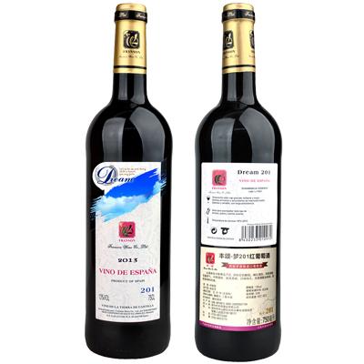 丰颂-梦201红葡萄酒