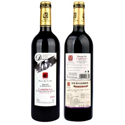 丰颂-梦205红葡萄酒