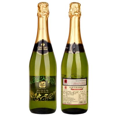 白无醇起泡酒325-丰颂汽泡白葡萄汁