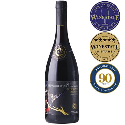 澳大利亞維多利亞古口一百號酒莊叢林系列西拉干紅葡萄酒