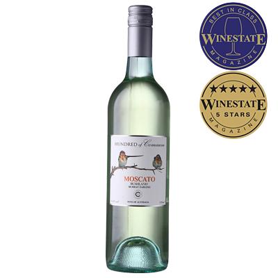 澳大利亞維多利亞古口一百號酒莊叢林系列莫斯卡托干白葡萄酒