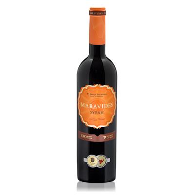 地中海陈酿西拉红葡萄酒