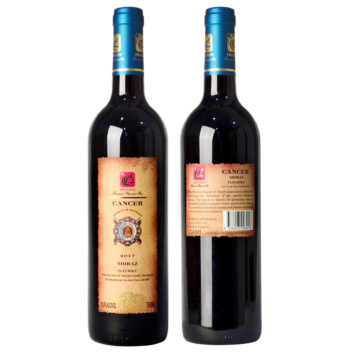 丰颂-巨蟹座107红葡萄酒