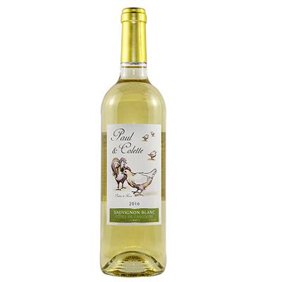 保罗克莱长相思白葡萄酒