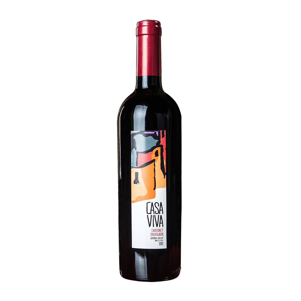 卡萨天堂赤霞珠干红葡萄酒