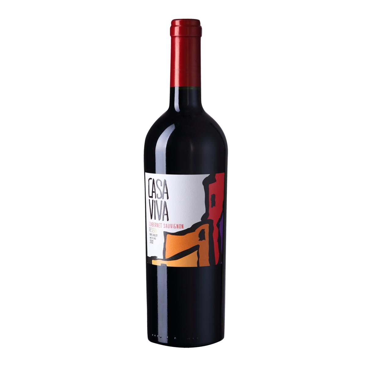 卡萨天堂赤霞珠珍藏干红葡萄酒