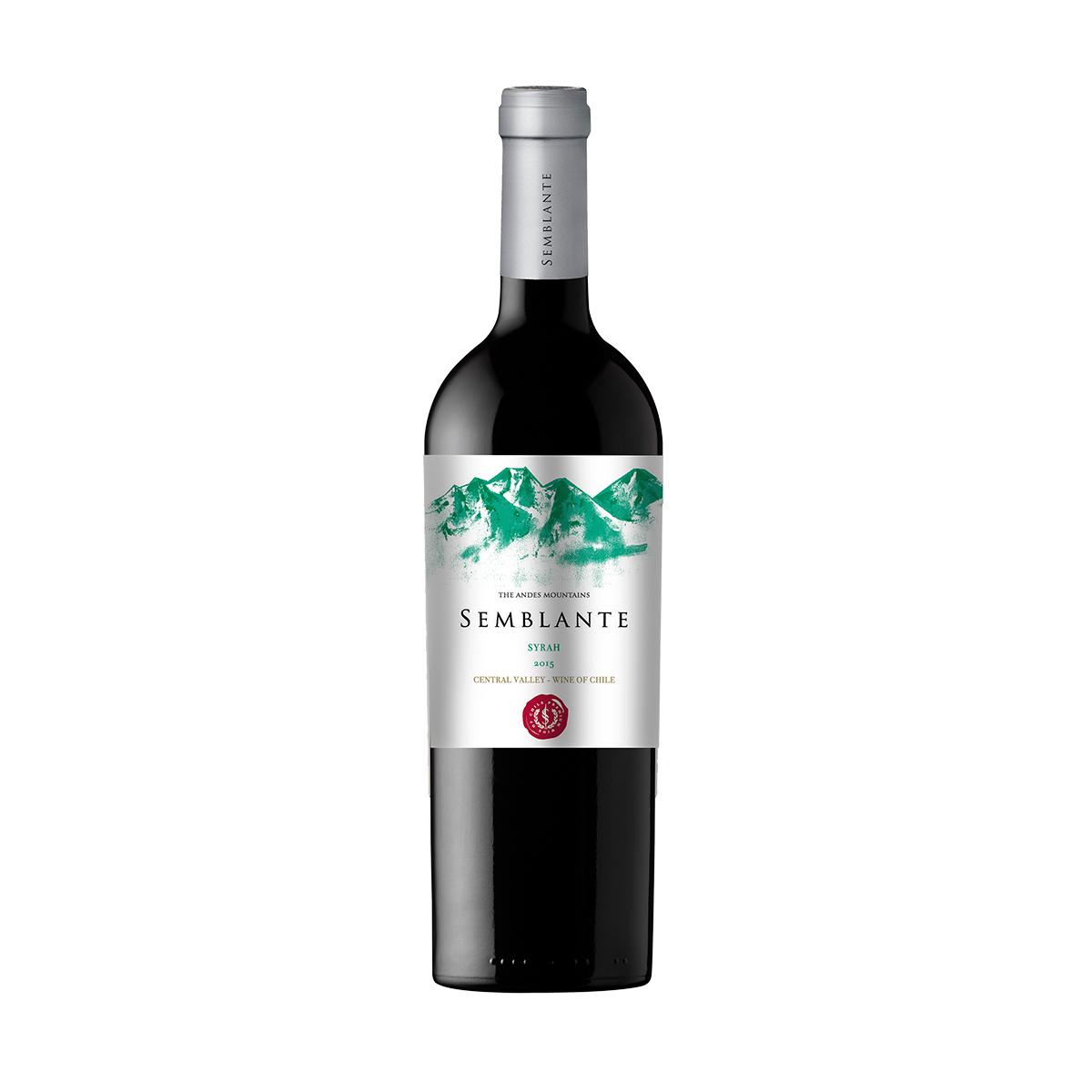 智利中央山谷西格尔酒庄风彩系列西拉干红葡萄酒