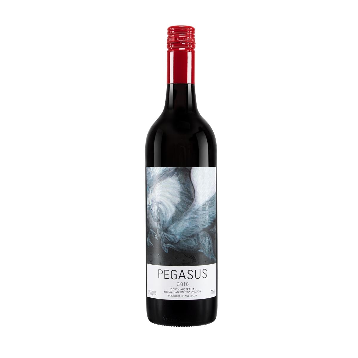 飞马西拉赤霞珠红葡萄酒