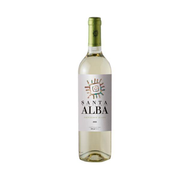 智利库里科谷香树酒庄圣塔长相思干白葡萄酒