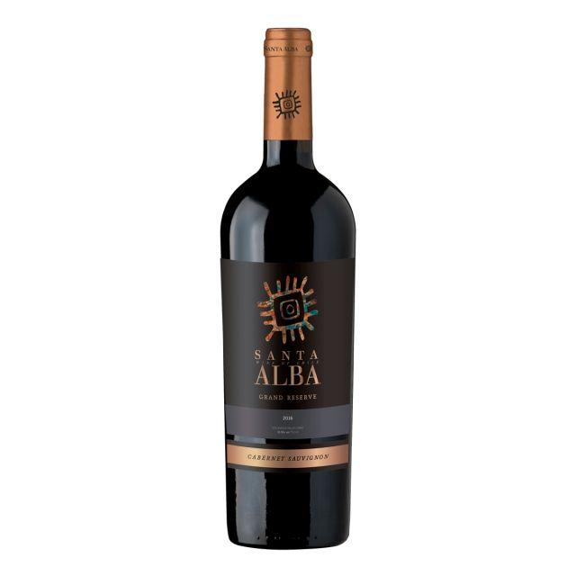智利库里科谷香树酒庄圣塔赤霞珠家族佳酿干红葡萄酒