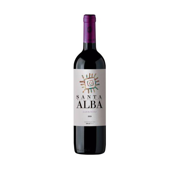 智利库里科谷香树酒庄圣塔佳美娜干红葡萄酒