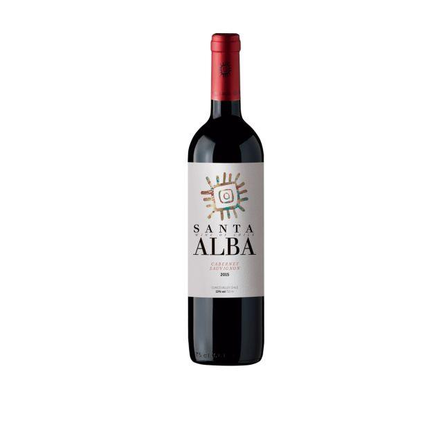 智利库里科谷香树酒庄圣塔赤霞珠干红葡萄酒