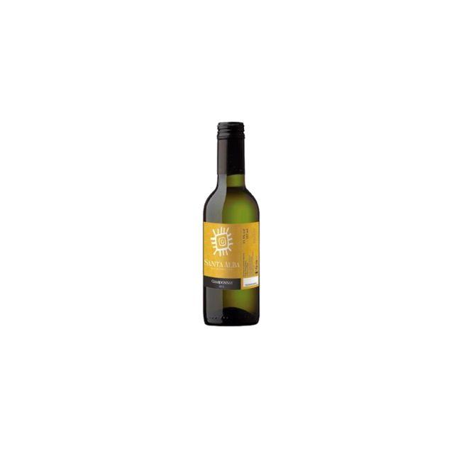 智利库里科谷香树酒庄圣塔霞多丽干白葡萄酒187ml