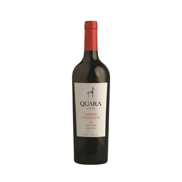 阿根廷卡法亚特快马庄园赤霞珠干红葡萄酒