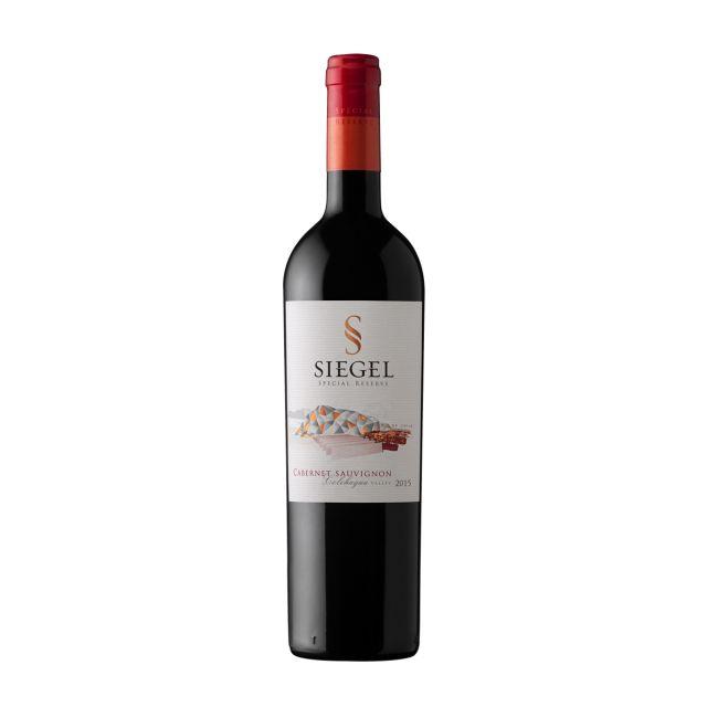 智利空加瓜谷西格尔酒庄赤霞珠珍藏红葡萄酒