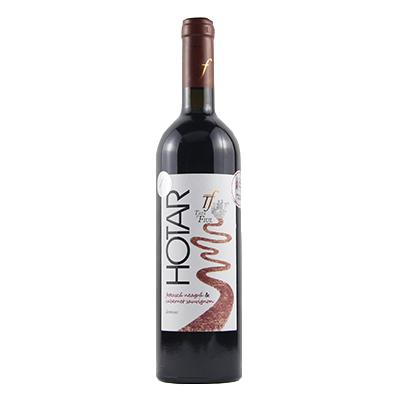 霍德黑姑娘&赤霞珠半干红葡萄酒