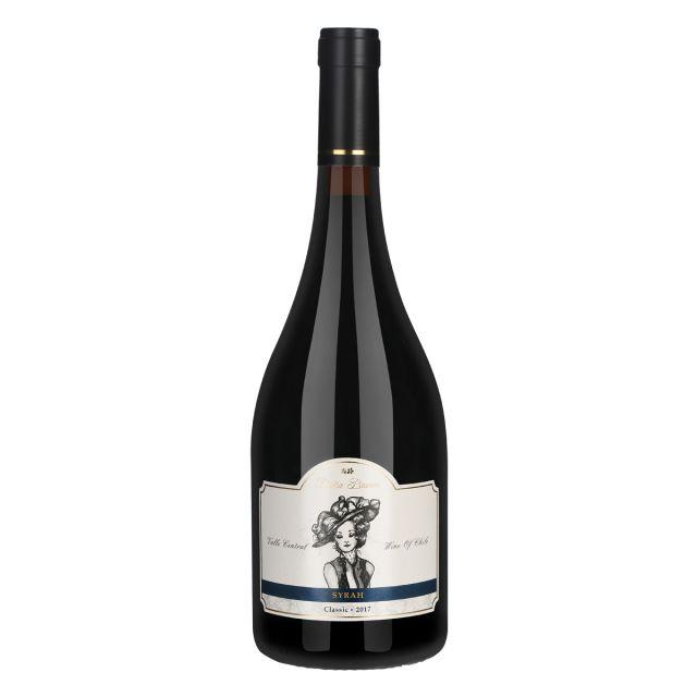 智利中央山谷DonaBianca酒莊安卡夫人西拉經典干紅葡萄酒