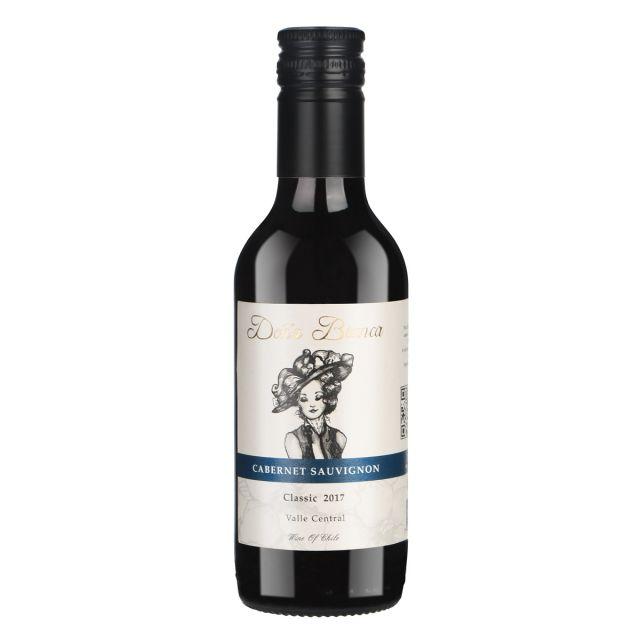 安卡夫人经典赤霞珠红葡萄酒187ml