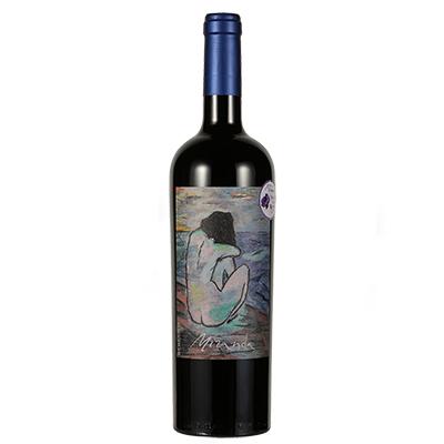 西班牙艺术酒庄自由梦系列混酿少女背影D.O.P干红葡萄酒