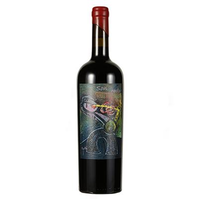 西班牙艺术酒庄画外之音系列慕合怀特天籁之音D.O.P干红葡萄酒