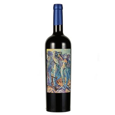 西班牙艺术酒庄自由梦系列赤霞珠梅洛女神(红)D.O.P干红葡萄酒