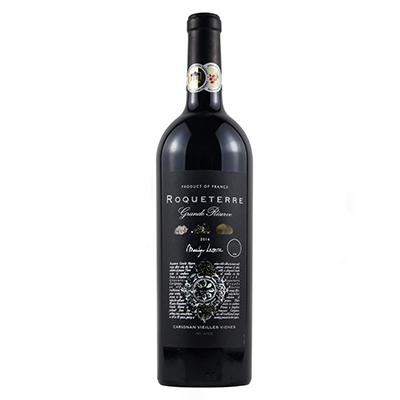 大地珍藏黑标80年老藤红葡萄酒