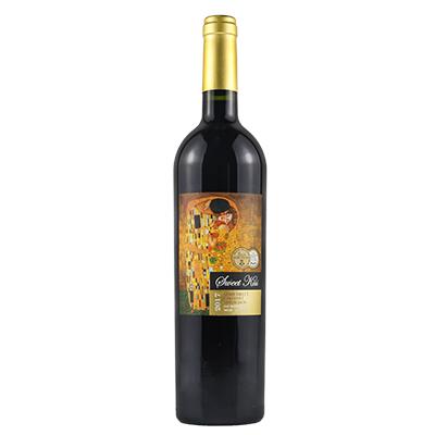 智利莫莱谷艾维娜酒庄心上甜吻赤霞珠半甜红葡萄酒