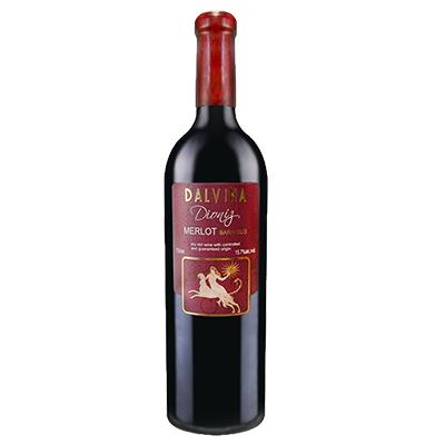 马其顿斯特鲁米察-拉多维什戴维娜酒庄迪奥尼斯梅洛VKGP干红葡萄酒