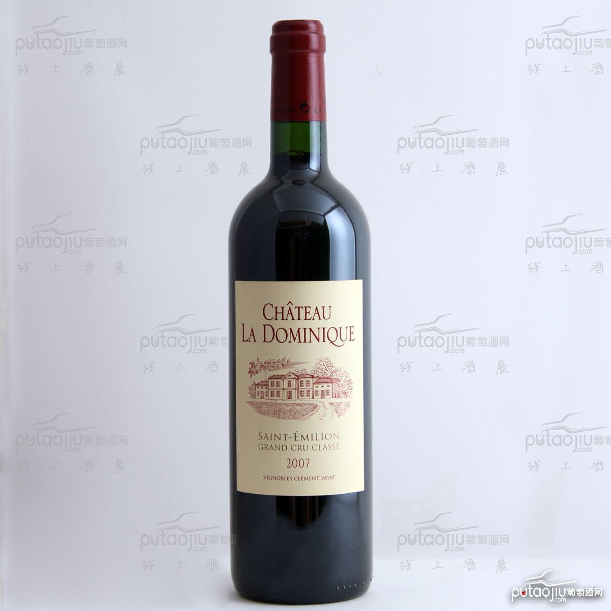 法国圣埃美隆多米尼克城堡混酿AOC法定产区干红葡萄酒