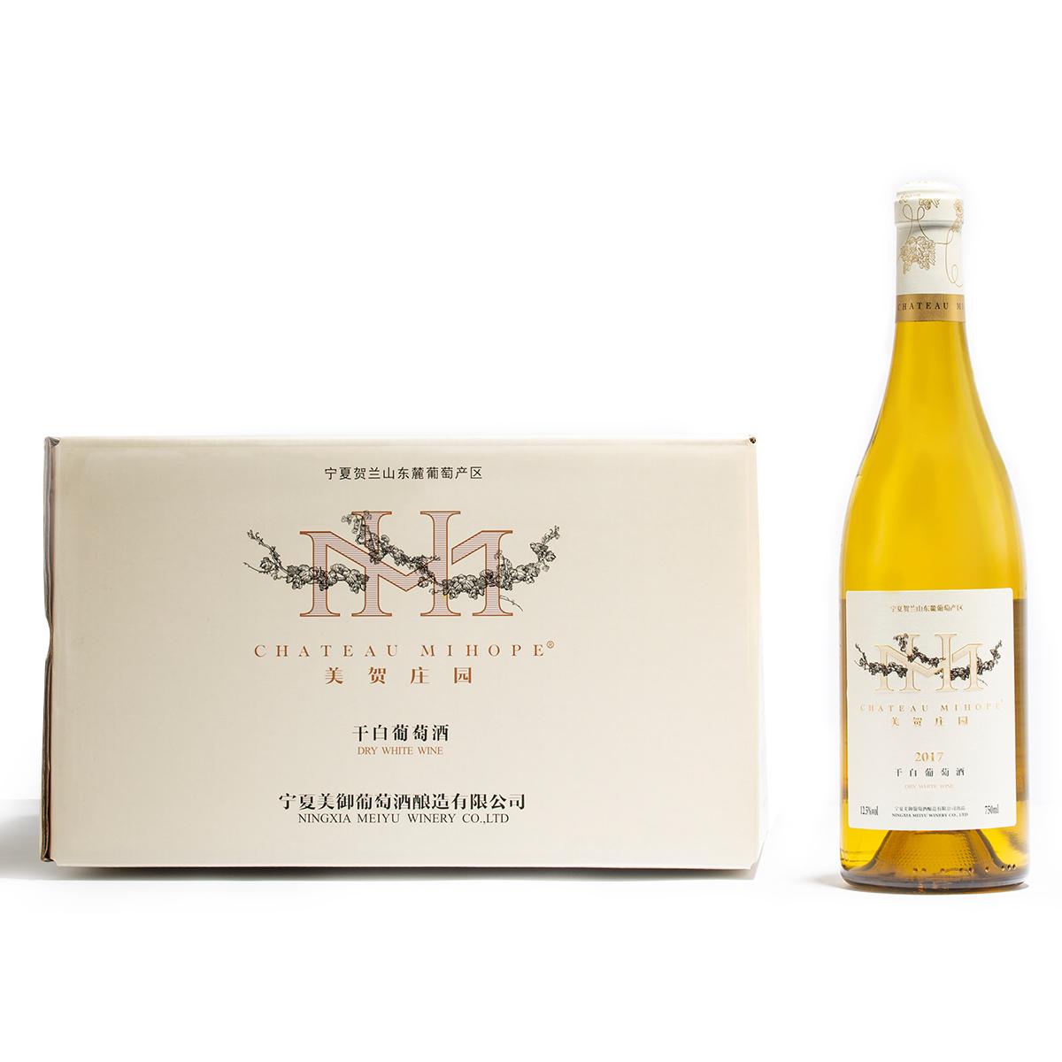 中國寧夏產區美賀莊園霞多麗干白葡萄酒