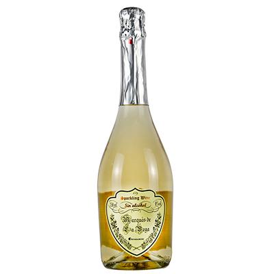 西班牙托莱多卡洛斯三世酒庄莫斯卡托马德拉维加无醇起泡酒