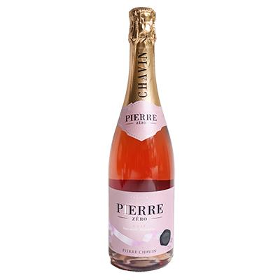 法国南部夏凡酒庄图比克霞多丽美乐脱醇桃红起泡酒