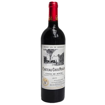 法国布尔丘大磨坊酒庄混酿磨塔城堡干红葡萄酒
