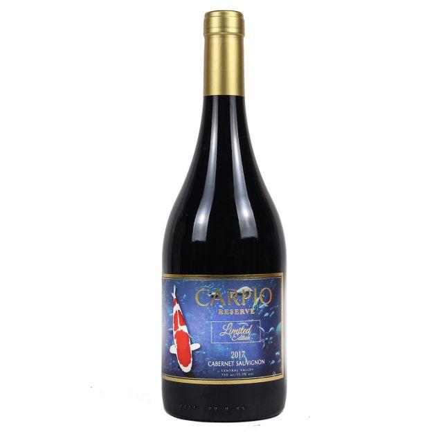 卡皮奥珍藏限量版赤霞珠红葡萄酒