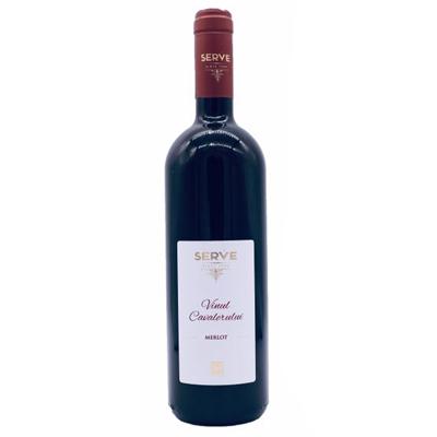 罗马尼亚得路马力思而福酒庄梅洛骑士IG干红葡萄酒