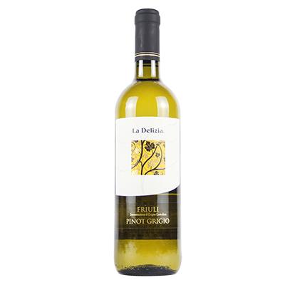意大利弗留利莱多吉酒庄灰皮诺精选DOC干白葡萄酒