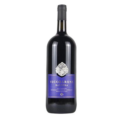 意大利艾米利亚万多酒庄巴贝拉男爵甄选DOC干红葡萄酒1.5L