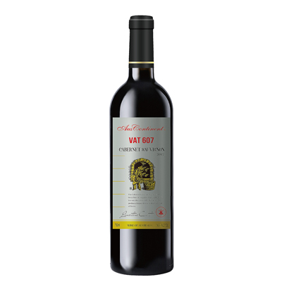 澳大利亚石灰岩海岸澳洲大陆酒庄赤霞珠VAT 607干红葡萄酒