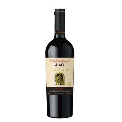 澳大利亚克莱尔谷澳洲大陆酒庄西拉J.AO干红葡萄酒