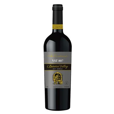 澳大利亚巴罗萨山谷澳洲大陆酒庄西拉VAT 807干红葡萄酒