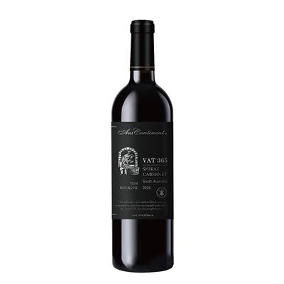 澳大利亚南澳产区澳洲大陆酒庄西拉赤霞珠VAT 365干红葡萄酒