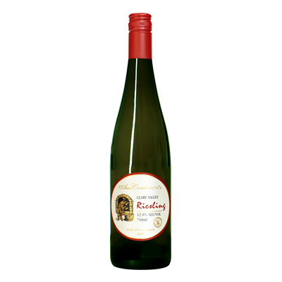 澳大利亚克莱尔谷澳洲大陆酒庄雷司令干白葡萄酒
